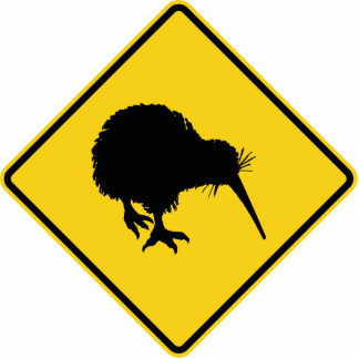 Kiwi Warning Statuette