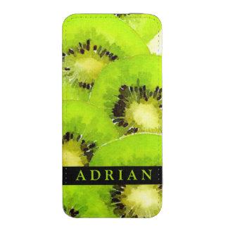 Kiwi | Watercolor Fruit Picture iPhone 5 Pouch