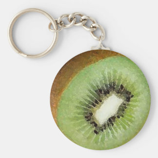 Kiwi Watercolor - Key Chain