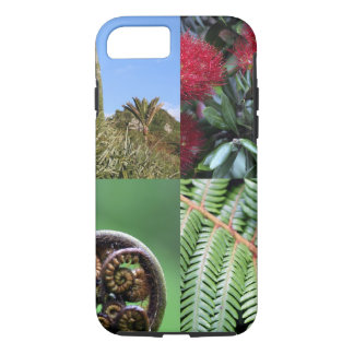 Kiwiana New Zealand native flora iPhone 7 Case