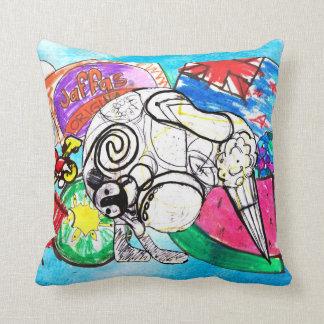 Kiwiana throw pillow