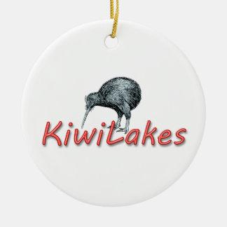 kiwilakes ceramic ornament