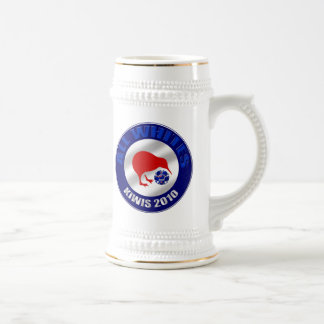 Kiwis 2010 All Whites New Zealand Soccer gifts Beer Stein
