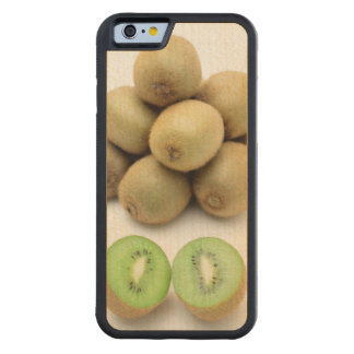 Kiwis still life carved maple iPhone 6 bumper case