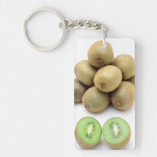 Kiwis still life Double-Sided rectangular acrylic keychain