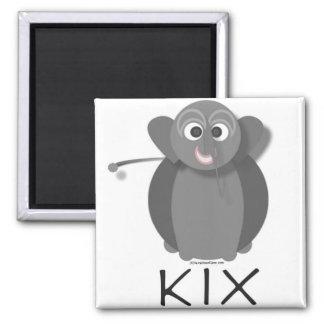 KIX PLAIN REFRIGERATOR MAGNET