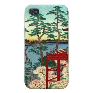 Kiyomizu Hall and Shinobazu Pond at Ueno (上野清水堂不忍ノ iPhone 4/4S Case
