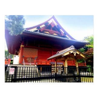 kiyomizu kannon-do (Ueno Park) Postcard