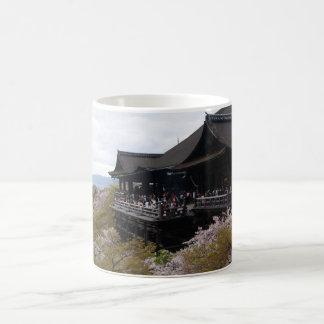 Kiyomizu temple coffee mug