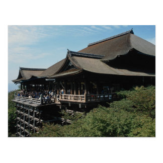 Kiyomizu Temple one of Kyoto s main attractions Post Card