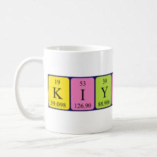 Kiyoshi periodic table name mug
