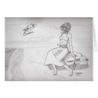 Kizu - At the Beach Card