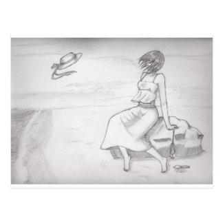 Kizu - en la playa postal