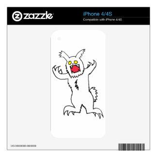 Kizzlez Rabbit Decals For iPhone 4S