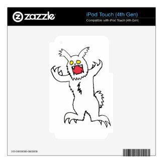 Kizzlez Rabbit Skins For iPod Touch 4G