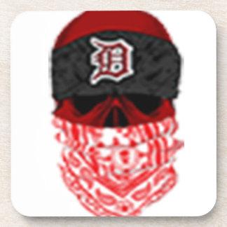 KJG Skull Logo Drink Coaster