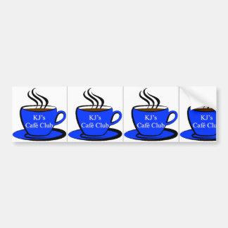 KJ's Café Club, 3-1 Bumper Sticker