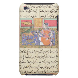 Kjujista, the Merchant's Wife, talking to a Parrot iPod Touch Case