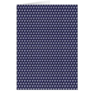 KJV 1611 pattern Card