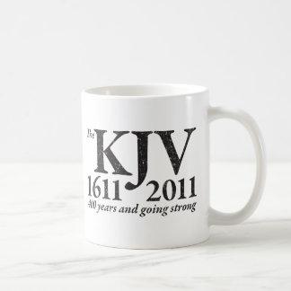 KJV Still Going Strong in black distressed Coffee Mug