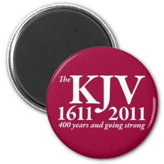 KJV Still Going Strong in white 2 Inch Round Magnet
