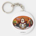 KK Firefighter Keychain