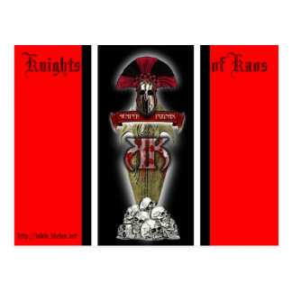 =KK=, Knights of Kaos Postcards