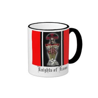 =KK=, Knights of Kaos, Semper Pugnax Ringer Coffee Mug