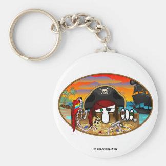 KK Pirate Keychain