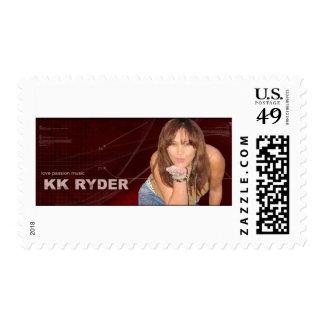KK Ryder the RoCkin RoLLin CoUnTrY Girl Stamp
