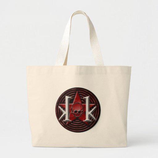 kk_star_logo_sticker_round-p217288417164181285b2o3 bolsas lienzo