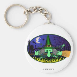 KK Witch Keychain
