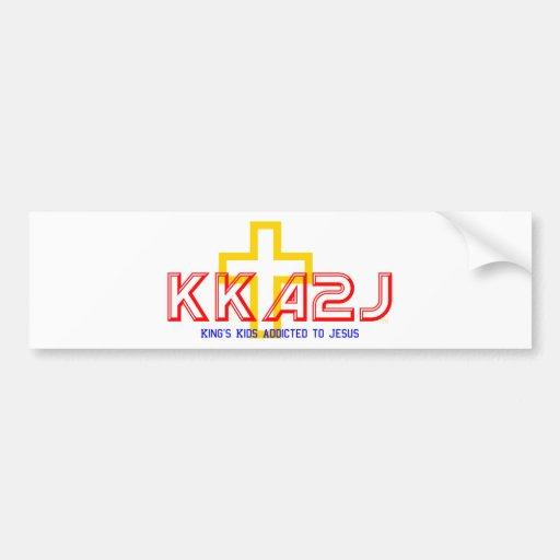 KKA2J Bumper Sticker Car Bumper Sticker
