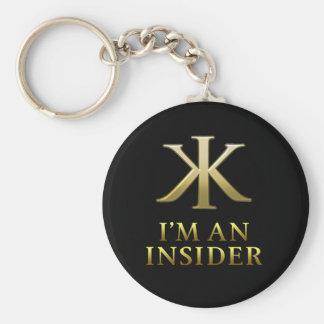 KKI Keychain-Black Keychain