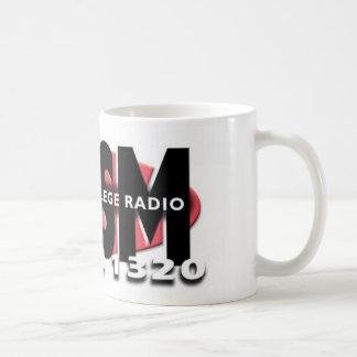 KKSM Palomar College Radio Classic White Coffee Mug