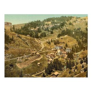 Klösterli, general view, Rigi, Switzerland vi Postcard