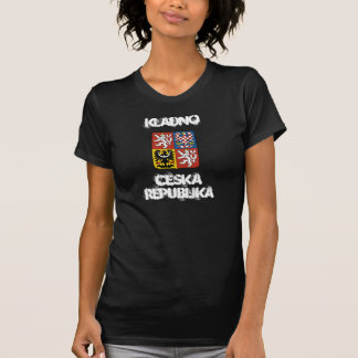 Kladno, Czech Republic with coat of arms T-Shirt
