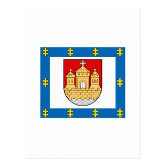 Klaipeda County Flag Postcard