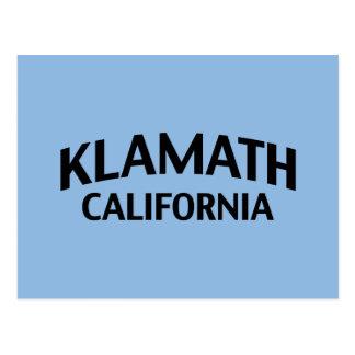 Klamath California Postcard