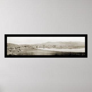 Klamath Falls, OR Photo 1907 Poster