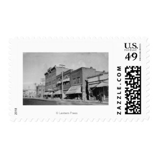 Klamath Falls, OR View looking up Main Street Postage Stamps