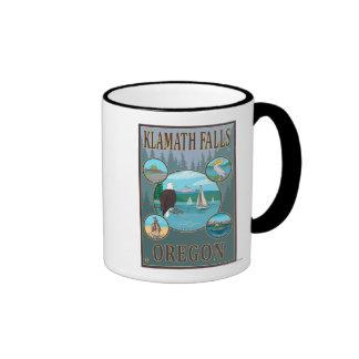 Klamath Falls, OregonScenic Travel Poster Mug