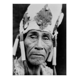 Klamath Headdress: 1920s Poster