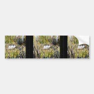 Klamath Marsh nest site Car Bumper Sticker