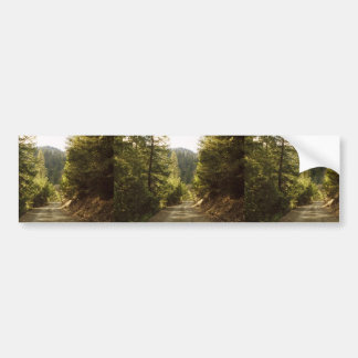 Klamath National Forest, Nfs Road 16N05 About 8 Mi Car Bumper Sticker