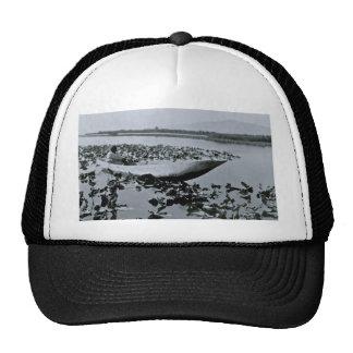 Klamath Native American dug out canoe Trucker Hat