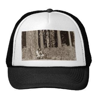 Klamath Native American Indian Ponderosa Pine Trucker Hat