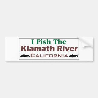klamath River Car Bumper Sticker