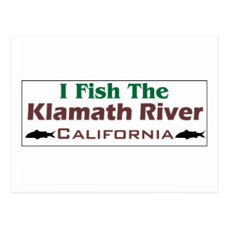 klamath River Postcard
