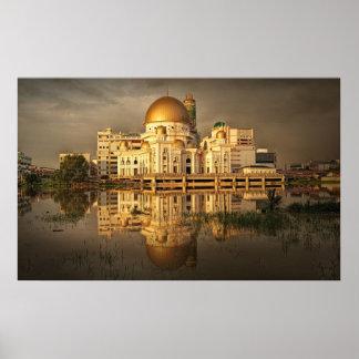 Klang Mosque Malaysia Huge Photo To Canvas Print